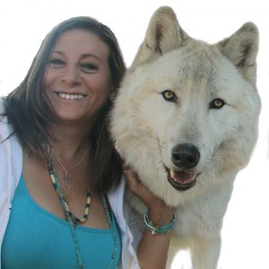 The Wolf Woman Entrepreneur Danna And Ambassador Wolf Named Journey