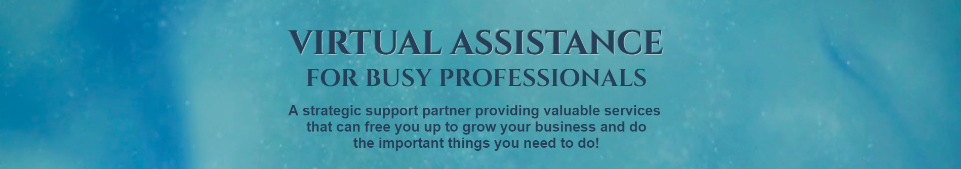 Virtual Assistance For Busy Professionals