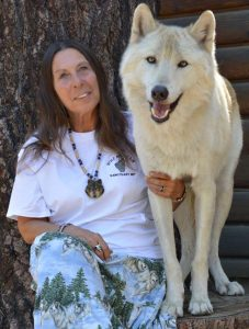 Tonya Littlewolf, Wolf Mountain Sanctuary